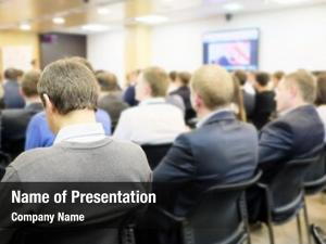 Presentation business conference