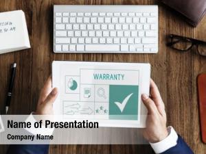 Product illustration quality warranty assurance