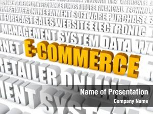 E commerce electronic commerce concept