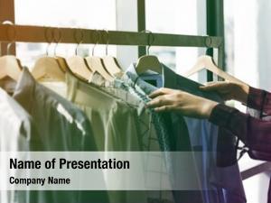 Choosing clothes clothing fashion design