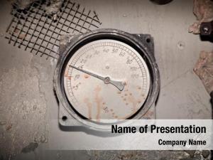 Gas old sensor cylinder show