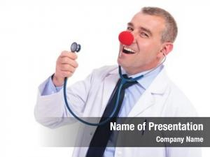 Red fake doctor clown nose