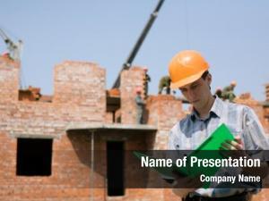 Brick construction house