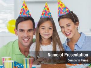Their parents celebrating little girls
