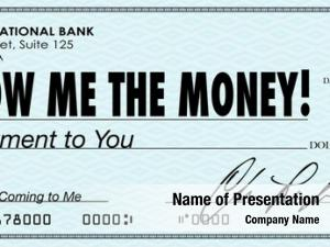 Check show money earnings payday