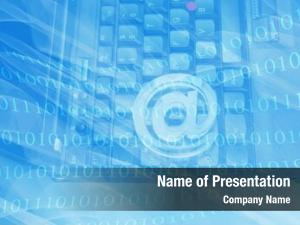 Technology abstract internet laptop keyboard