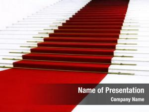 Staircase red carpet