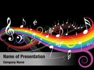 Rainbow music theme