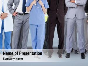 Various group people job careers
