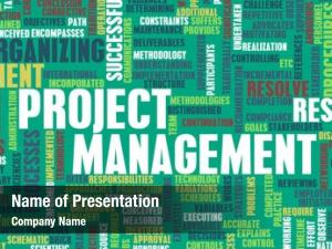 Project project management manager concept