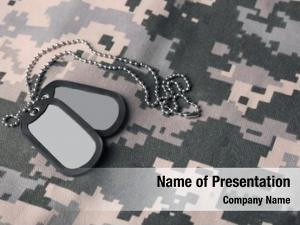 Uniform military tag
