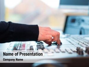 Station presenter radio hosting show