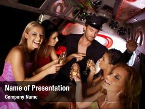 Party hot bachelorette party limousine