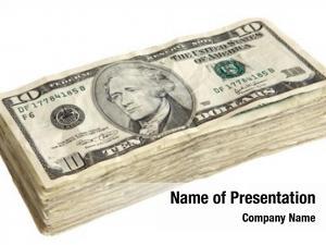 Bills stack dollar