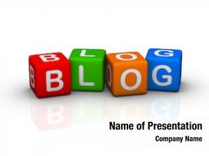 Colorful blog (buzzword cubes series)