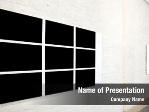 Frame black large small white