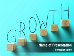 Turquoise growth business color concept
