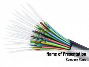 Cable optic fiber black