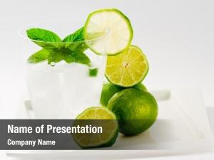 Concept weight loss limes, refreshing