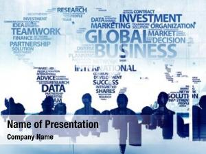 Global business people business concepts