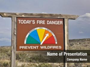 High fire powerpoint background