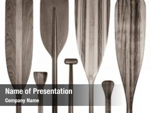 Blades and grips powerpoint template