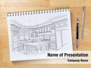 Desk sketch pad top drawing