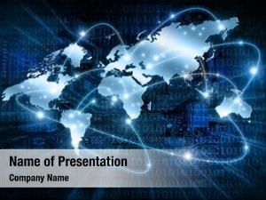 World, modern business businessman navigating