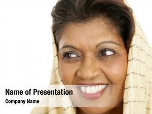 Beautiful closeup portrait indian woman