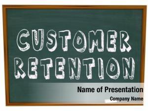 Retention words customer chalkboard lesson