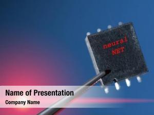 Artificial silicon chip neural network