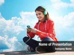 People technology, lifestyle concept smiling