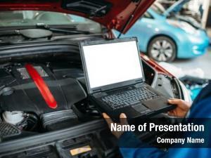 Computer engineer makes diagnostics car