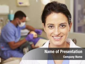 Nurse portrait dental dentists surgery