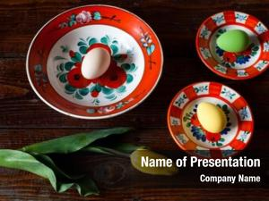 Beautiful easter eggs hungarian traditional
