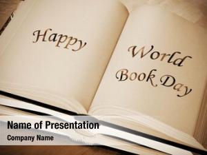 World sentence happy book day,