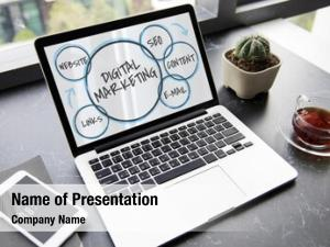 Marble table branding digital marketing