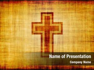 Bible christian cross poster design