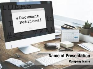 Paper document retrieval forms contract