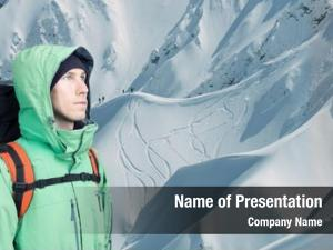 Alpinist powerpoint theme