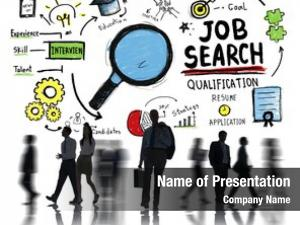 Direction businessman career job search