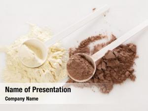Powder spoon protein food protein,