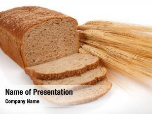 Bread loaf wheat shock wheat