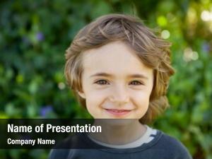 Preschool child adorable small