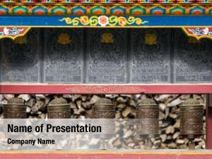 Mani buddhist prayer wall prayer