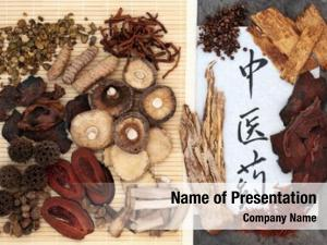 Medicine chinese herbal selection calligraphy