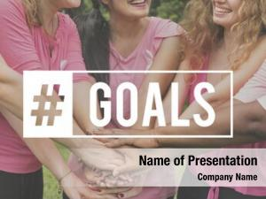 Group of people network goals target