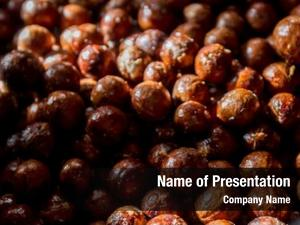 Nuts macadamia nuts, orchid, macadamian