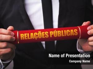 (in public relations portuguese)