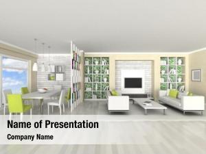 Room, interior modern living room,
